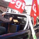 Préparation de la voiture SGE