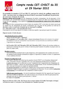 Télécharger le CR CHSCT 20120307