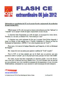 Télécharger le flash CE Extra du 6 juin 2012