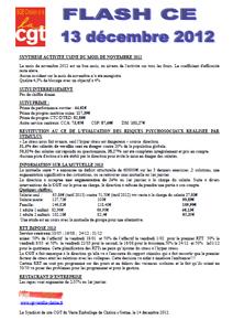 Télécharger le flash CE du 13 décembre 2012