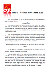 Télécharger le tract CHS CT Central du 7 mars 2013