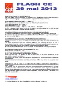 Télécharger le flash CE du 29 mai 2013