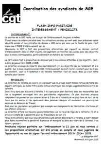 Télécharger le flash paritaire interessement / pénibilité de juin 2013