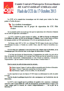 Télécharger le flash CCE du 17 Octobre 2013