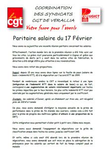 Télécharger le tract paritaire salaire du 17 février 2014