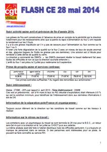 Télécharger le flash CE du 28 mai 2014