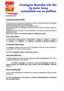 Télécharger le flash CE du 23 juin 2014